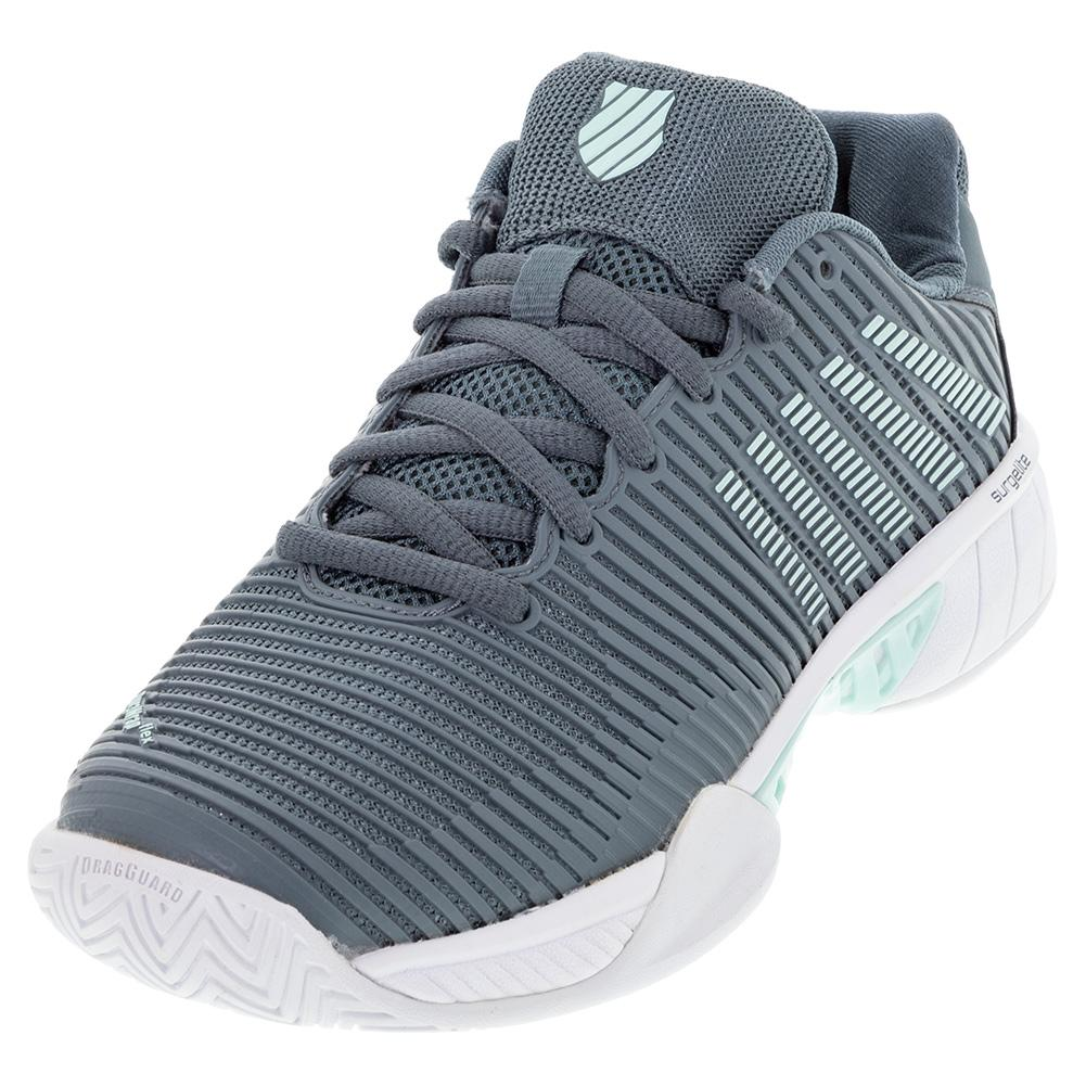Women's Hypercourt Express 2 Wide Tennis Shoes Stormy Weather And Icy Morn