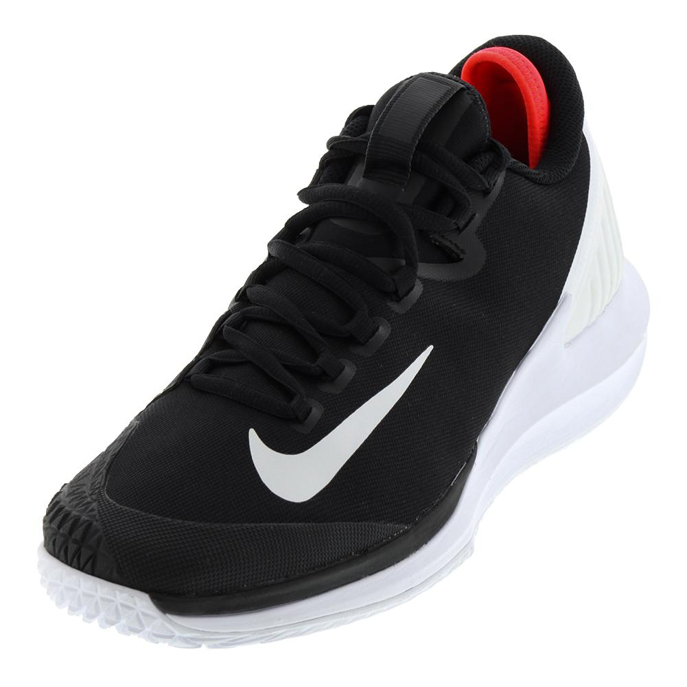 brand new eee34 8aa91 Men s Court Air Zoom Zero Tennis Shoes Black And White