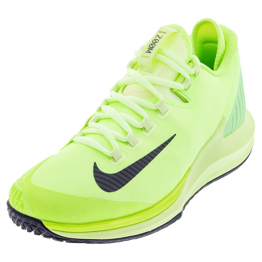 Men's Air Zoom Zero Tennis Shoes Ghost Green And Barely Volt