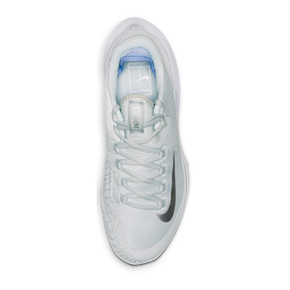 c06031f0adf468 Women's Court Air Zoom Zero Tennis Shoes Pure Platinum And Metallic Silver.  Zoom. Hover to zoom click to enlarge