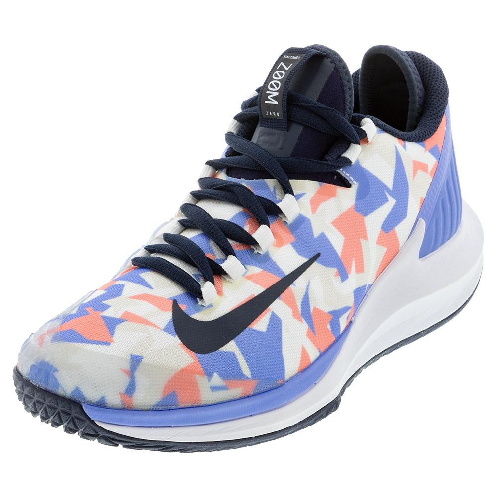 Women's Air Zoom Zero Tennis Shoes Royal Pulse And Obsidian