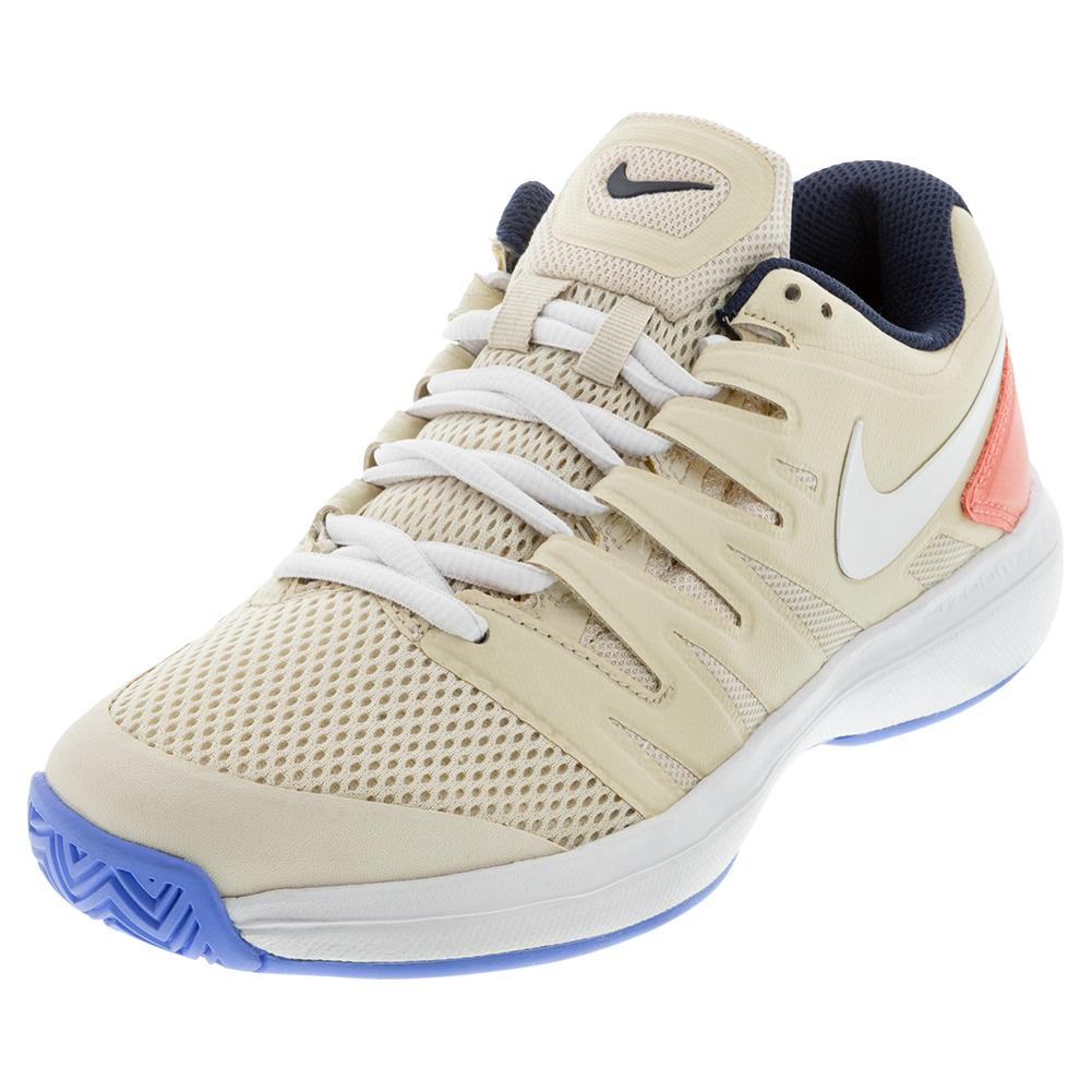 Women's Air Zoom Prestige Tennis Shoes Light Orewood And White