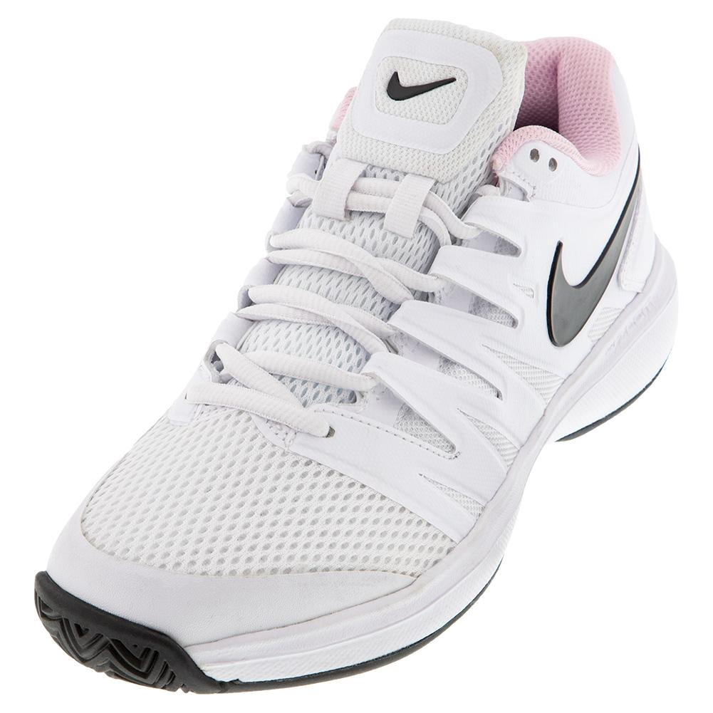 Women's Air Zoom Prestige Tennis Shoes White And Photon Dust