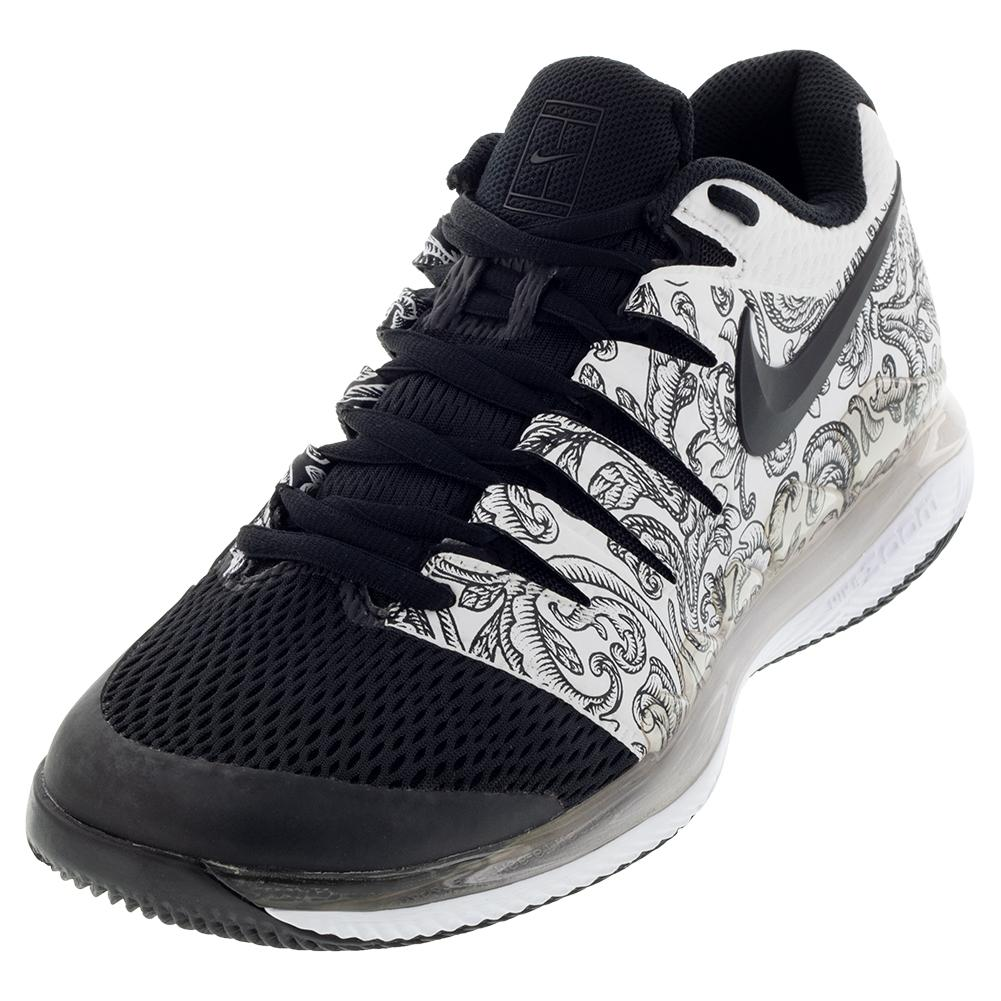 866f468647b88 Nike Women s Air Zoom Vapor X Tennis Shoes White and Black