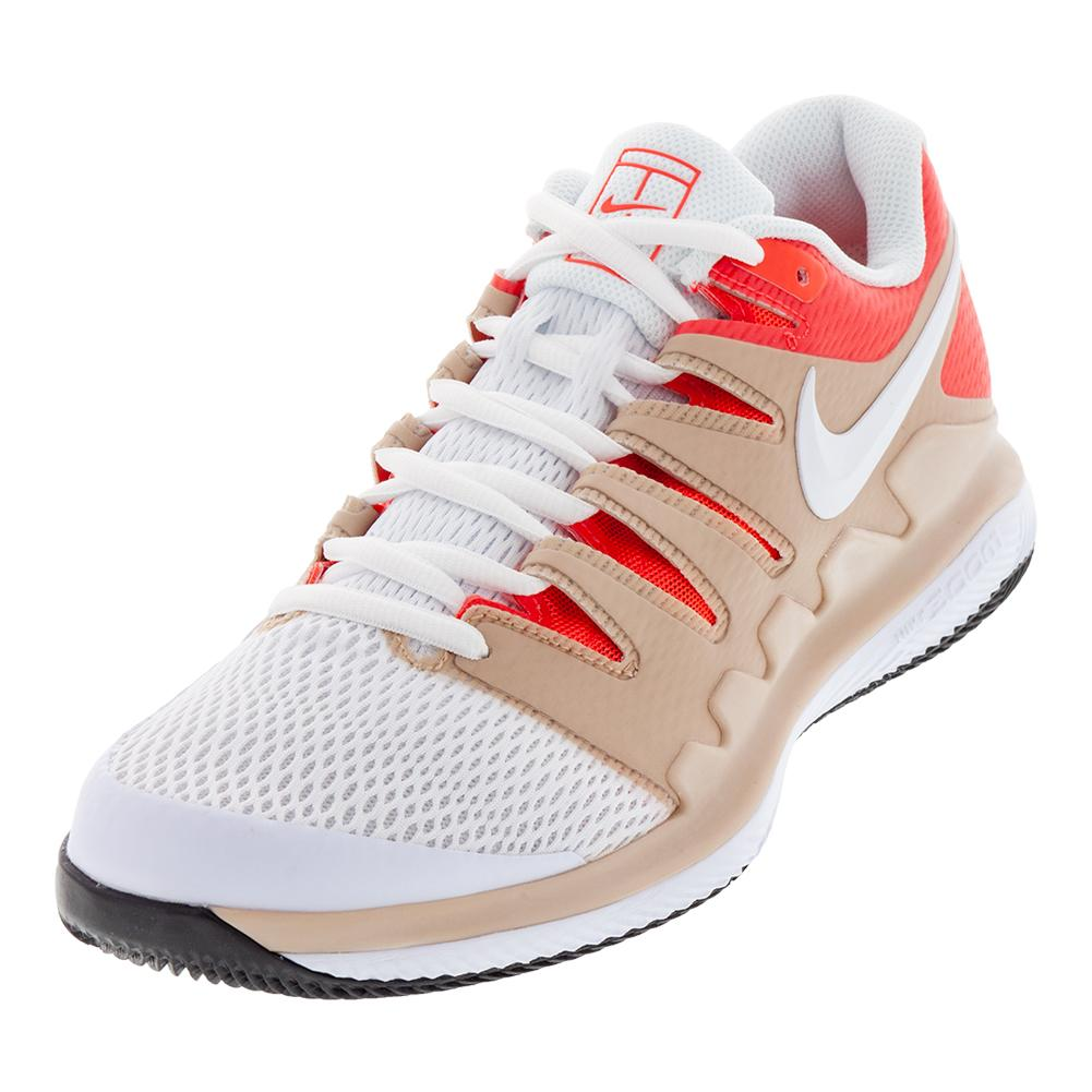 Men's Air Zoom Vapor X Tennis Shoes Bio Beige And White
