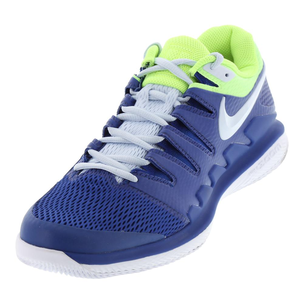 the best attitude f861a 060d5 Men s Air Zoom Vapor X Tennis Shoes Indigo Force And Half Blue