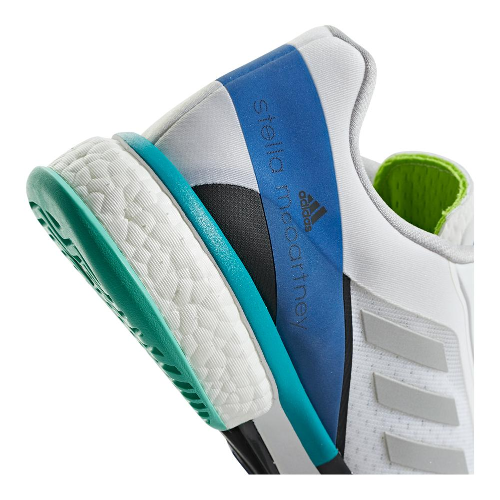 new style 1206f 40349 ADIDAS ADIDAS Womens Stella Mccartney Barricade Boost Tennis Shoes White  And Stone. Zoom. Hover to zoom click to enlarge. 360 View