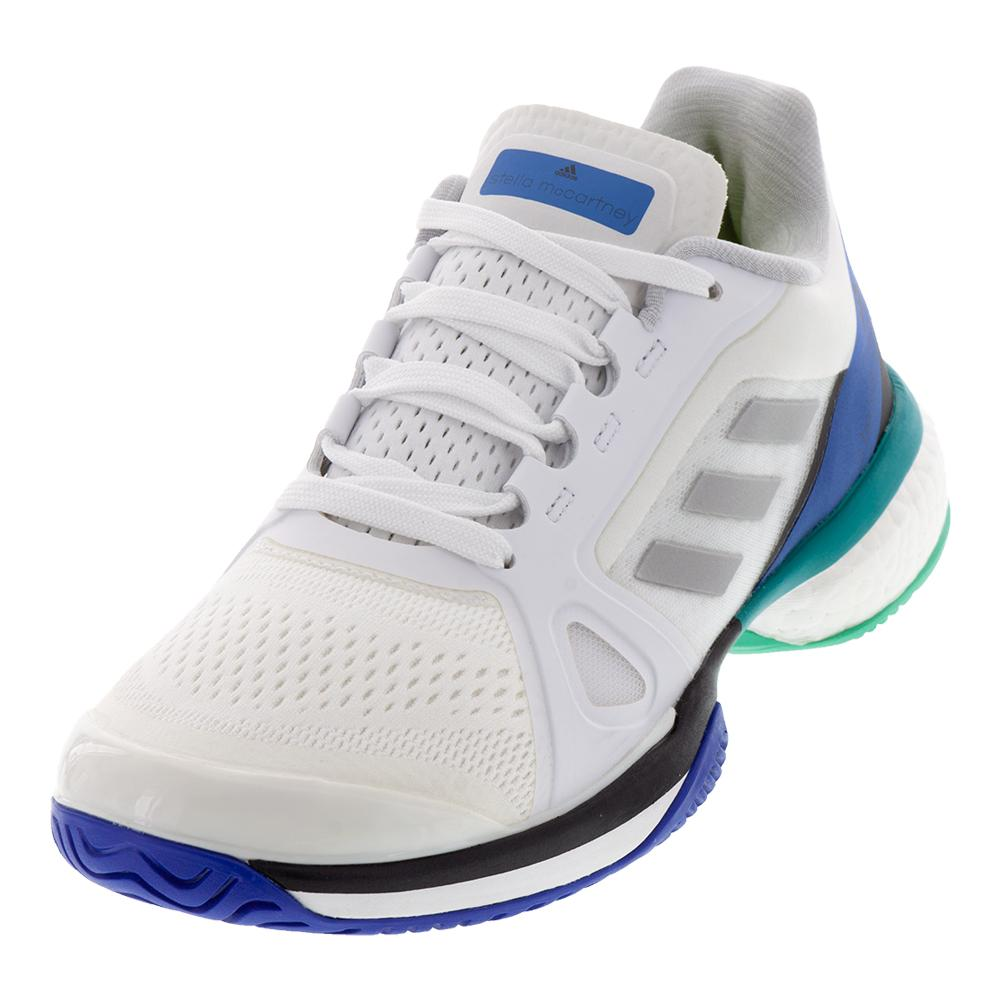 59aec288c53270 adidas Women`s Stella McCartney Barricade Boost Tennis Shoes