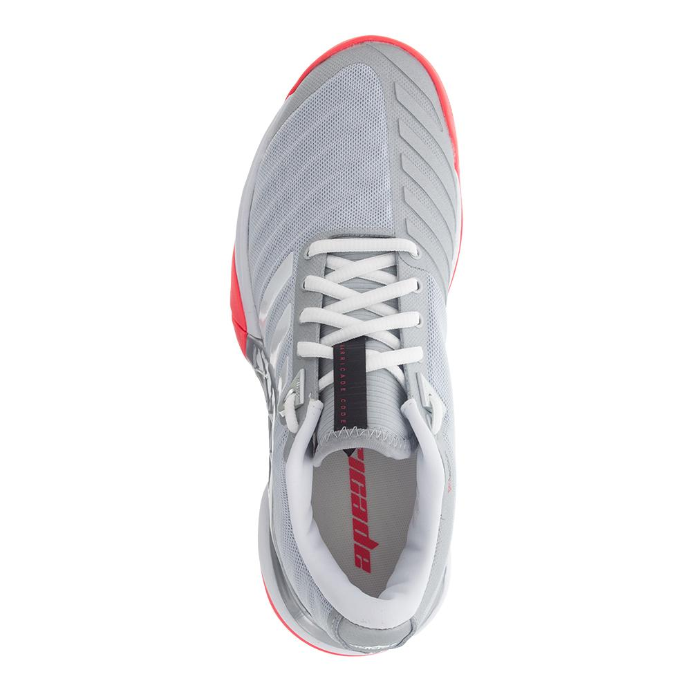 buy popular d1696 c7a7f Women s Barricade 2018 Tennis Shoes Matte Silver And White. Zoom. Hover to  zoom click to enlarge. 360 View