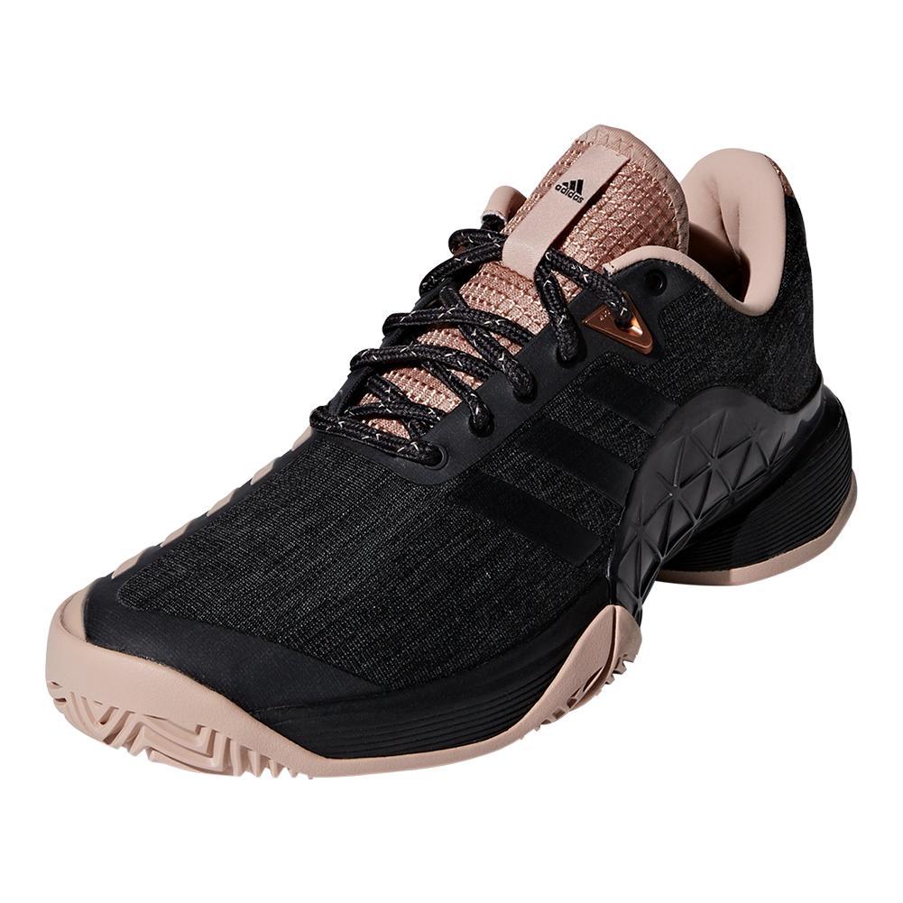 Women's Barricade 2018 Ltd Tennis Shoes Ash Pearl And Black