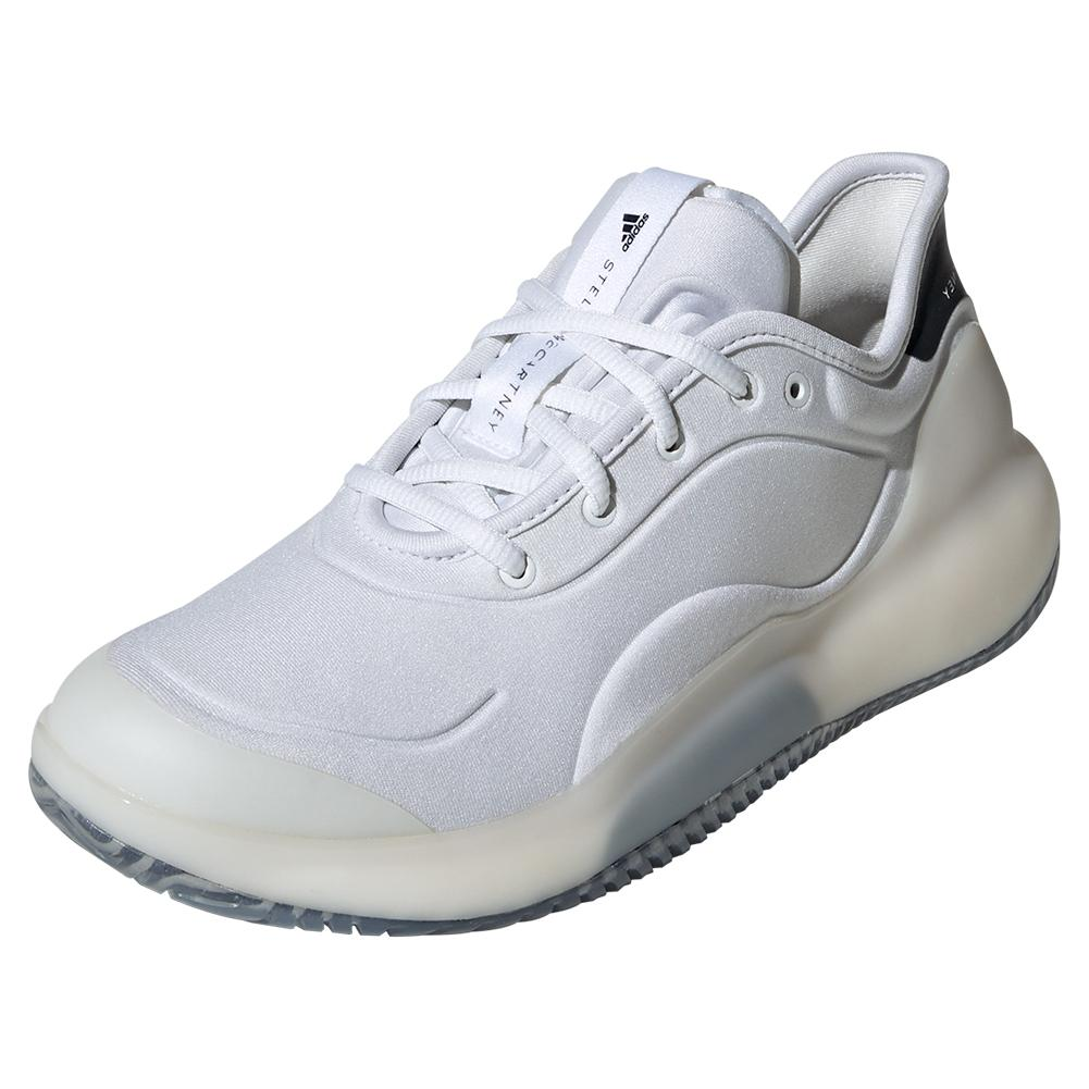 b584237de Women s Stella Mccartney Court Boost Tennis Shoes White And Legend Blue