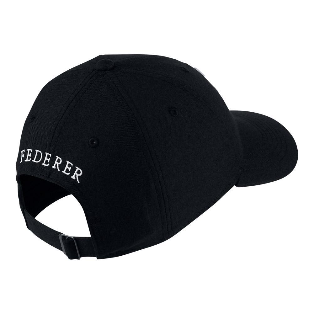 c103773b6ce Men`s Roger Federer Court Aerobill H86 Heritage Tennis Cap 100 WHITE