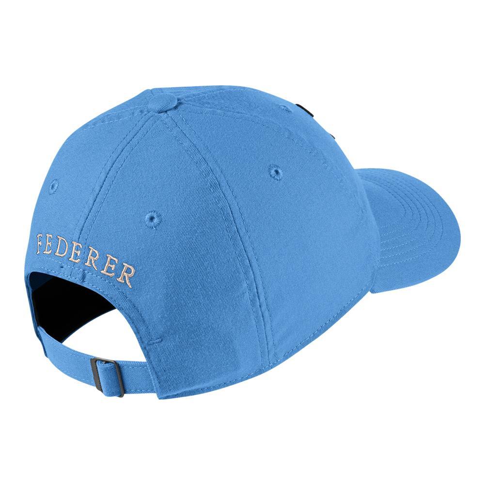c4cf1a9463a Men`s Court Roger Federer Aerobill H86 Heritage Tennis Cap  412 UNIVERSITY BLUE