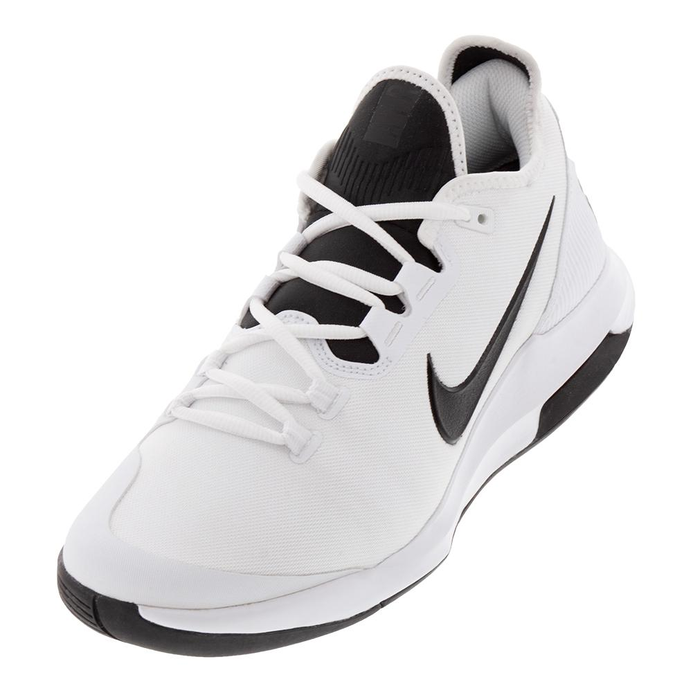 best service c6ee4 e4686 Men s Air Max Wildcard Tennis Shoes White And Black