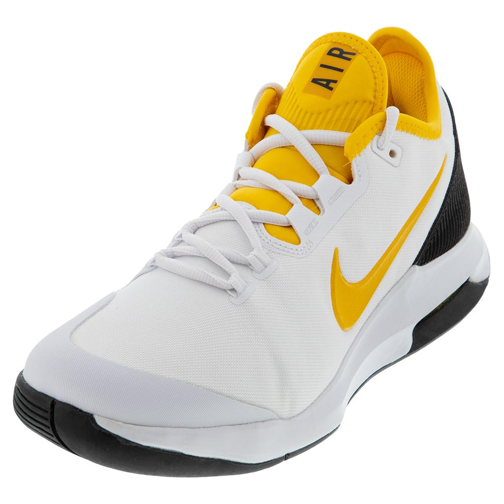 free shipping ce437 d4b33 Men s Air Max Wildcard Tennis Shoes White And University Gold