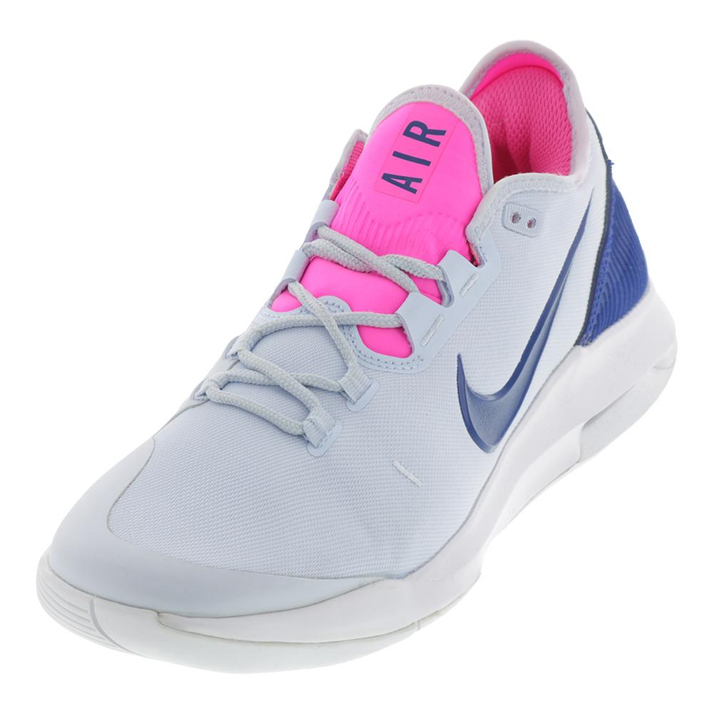 separation shoes eb1c6 2ddc0 Nike Women s Air Max Wildcard Tennis Shoes Half Blue and Indigo Force
