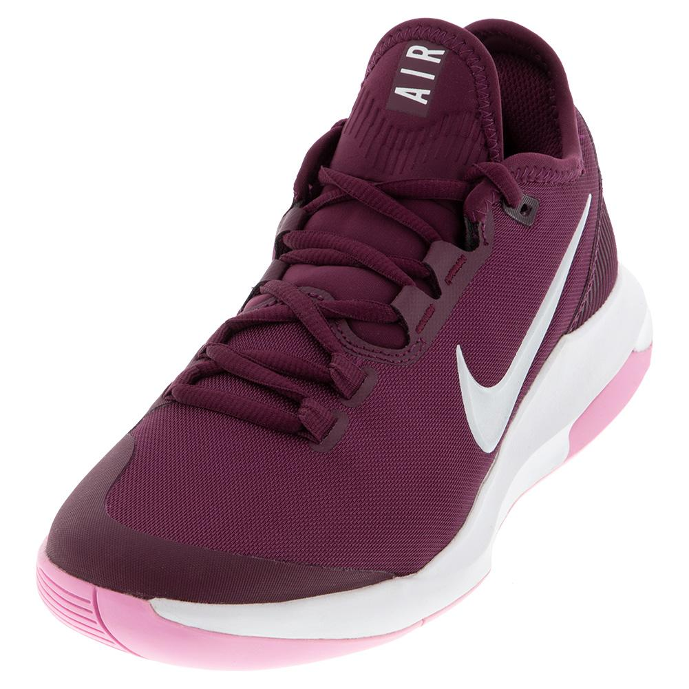 Women's Air Max Wildcard Tennis Shoes Bordeaux And White