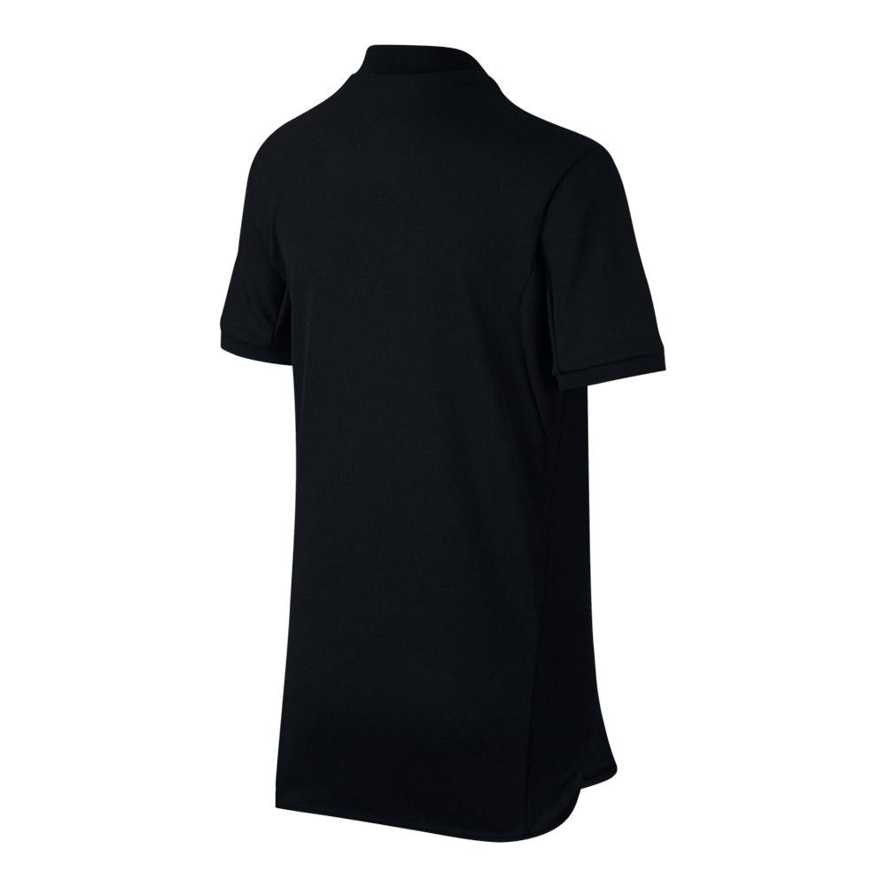 7dc8608ab Nike Boy's Court Advantage Tennis Polo (Black/White)