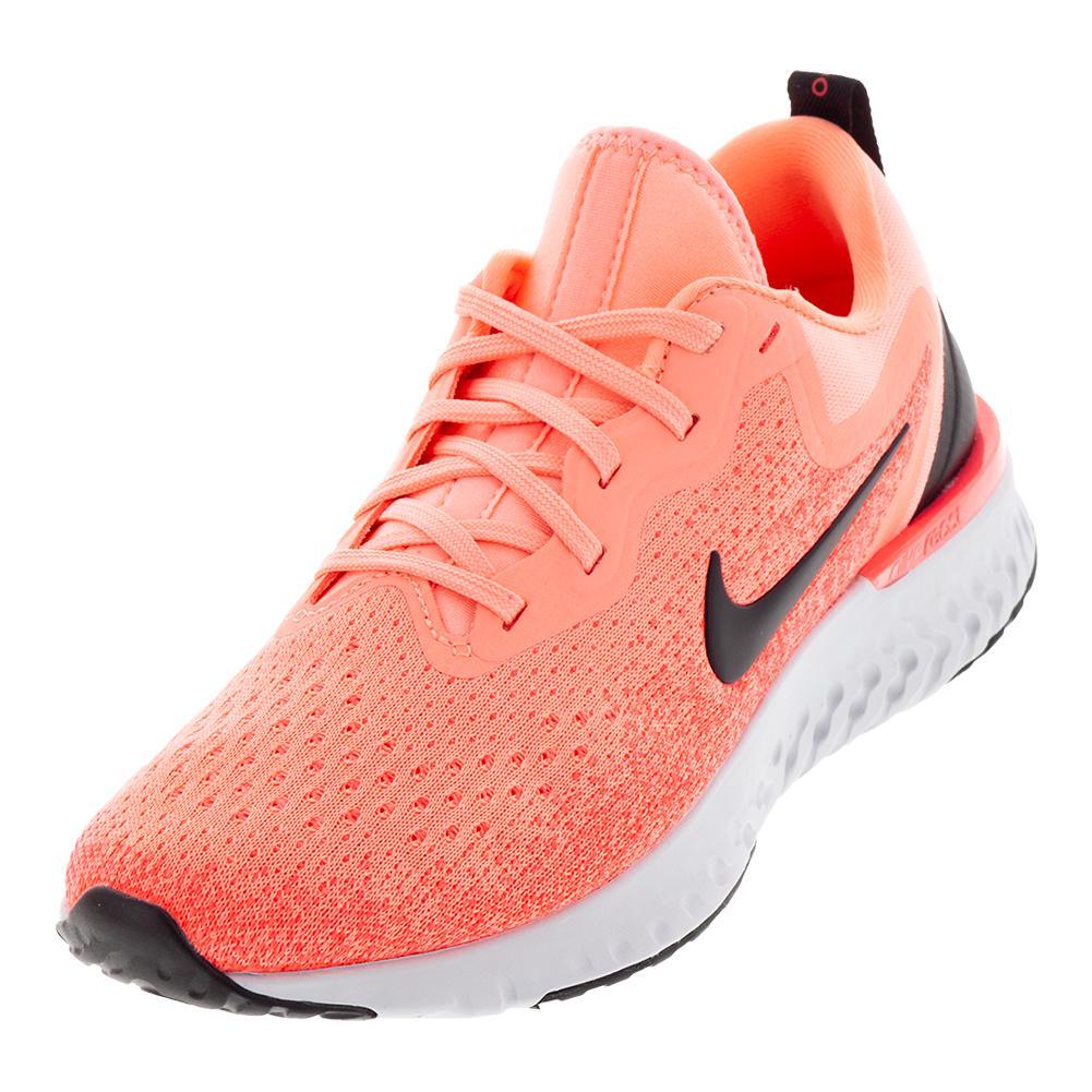 08b054d24c42 Nike Women's Odyssey React Running Shoes Light Atomic Pink and Black