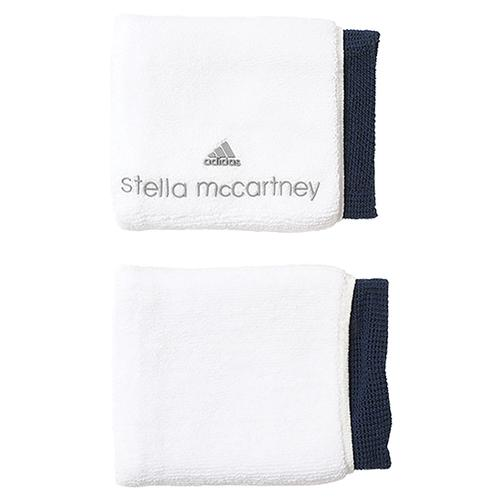 Women's Stell Mccartney Tennis Wristband White And Black