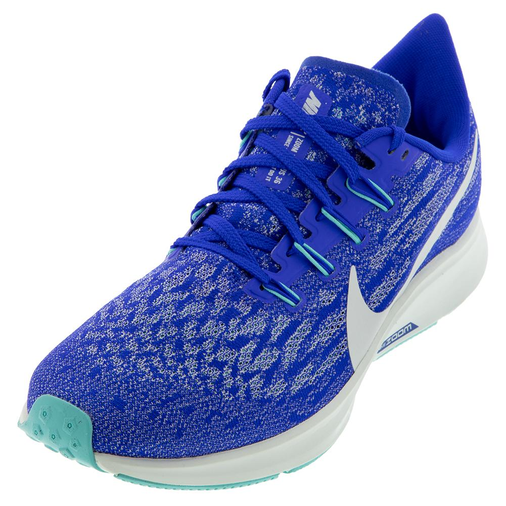 Women's Air Zoom Pegasus 36 Running Shoes Racer Blue And Ghost Aqua