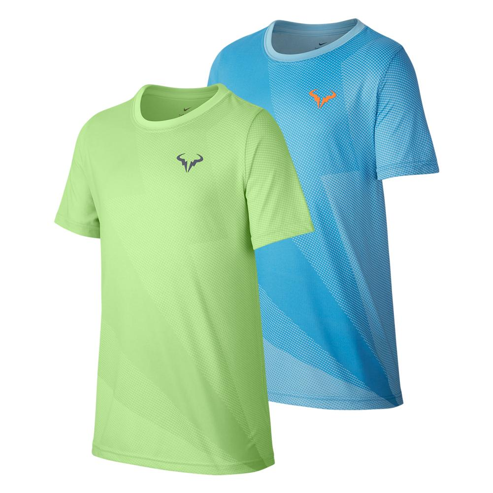77b624c014d Boys ` Rafa Court Graphics Tennis Tee. Zoom. Hover to zoom click to enlarge