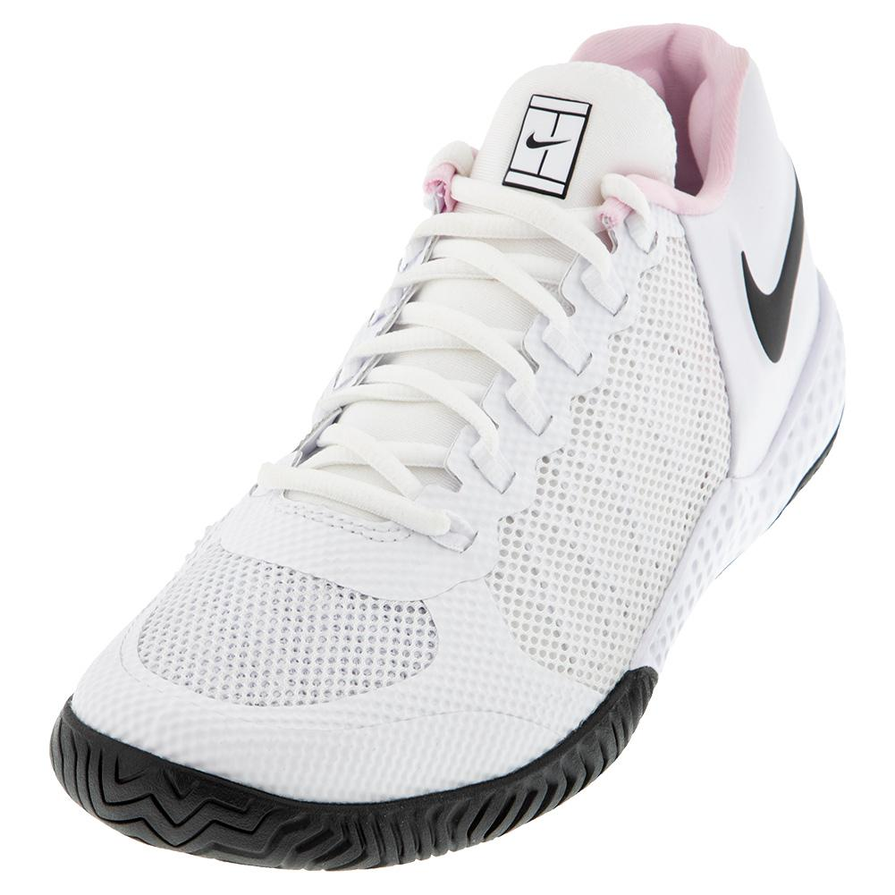 Women's Flare 2 Hc Tennis Shoes White And Black
