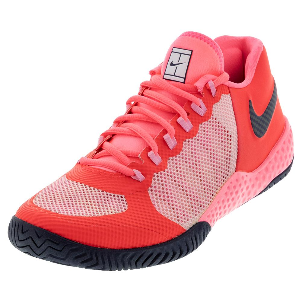 Women's Flare 2 Hc Tennis Shoes Laser Crimson And Pink