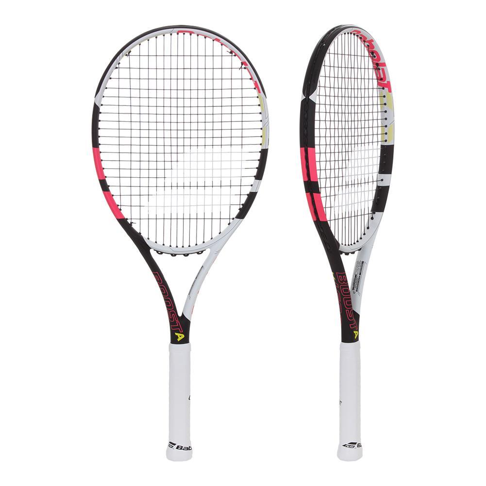 Boost A Pink Prestrung Tennis Racquet