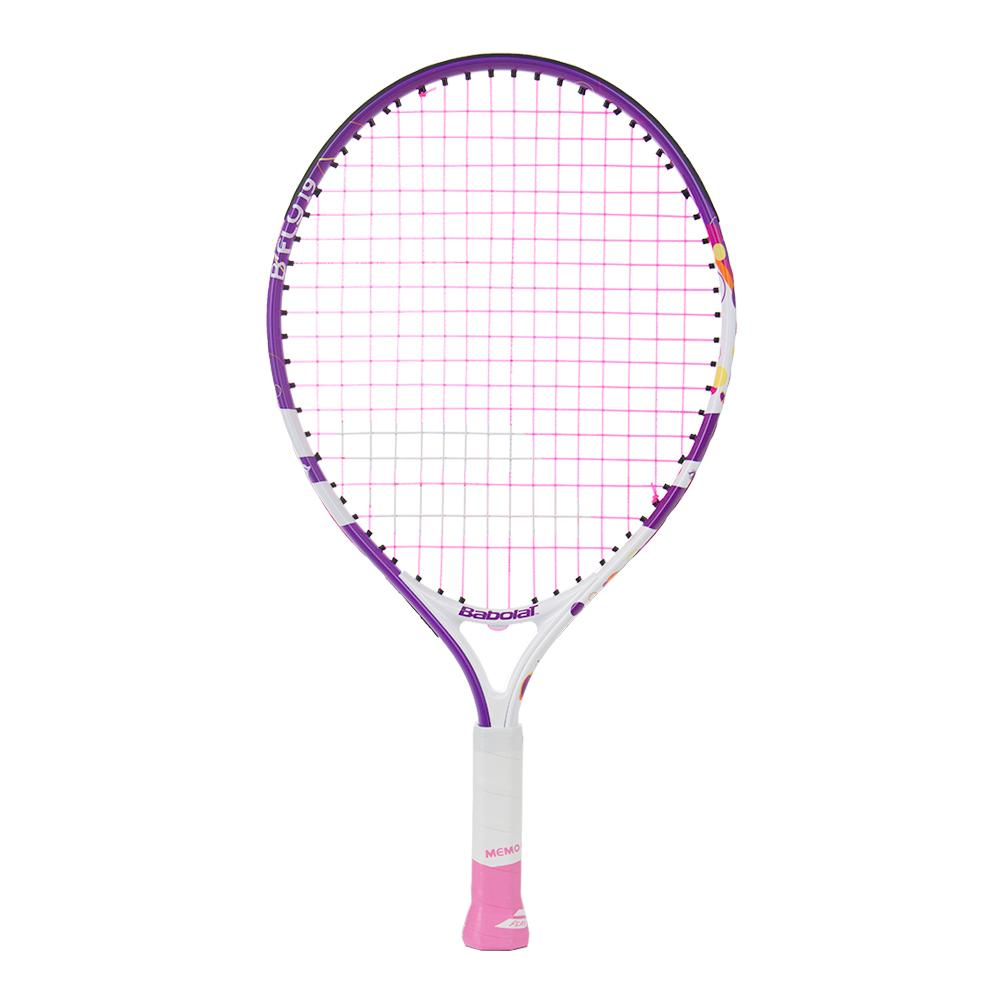 Bfly 19 Junior Tennis Racquet White And Purple
