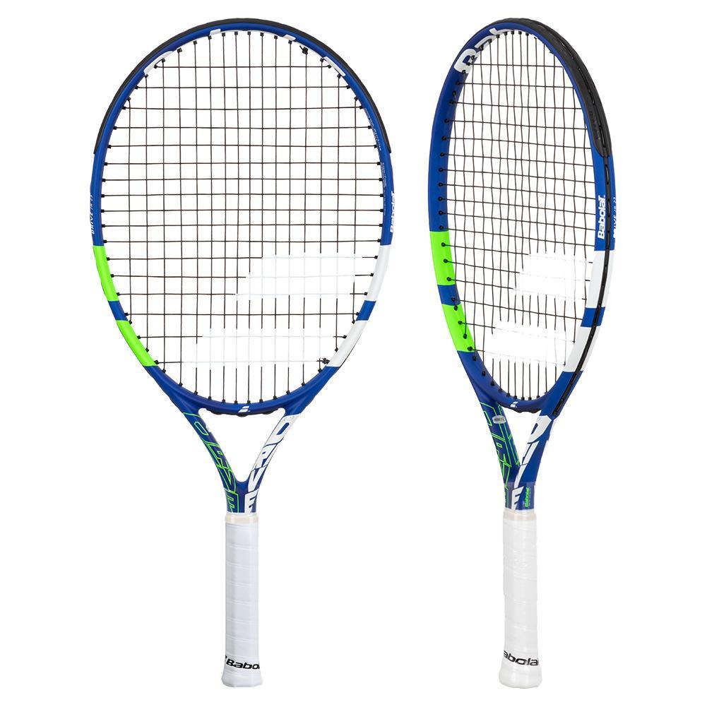Drive Junior 23 Prestrung Tennis Racquet Blue And Green