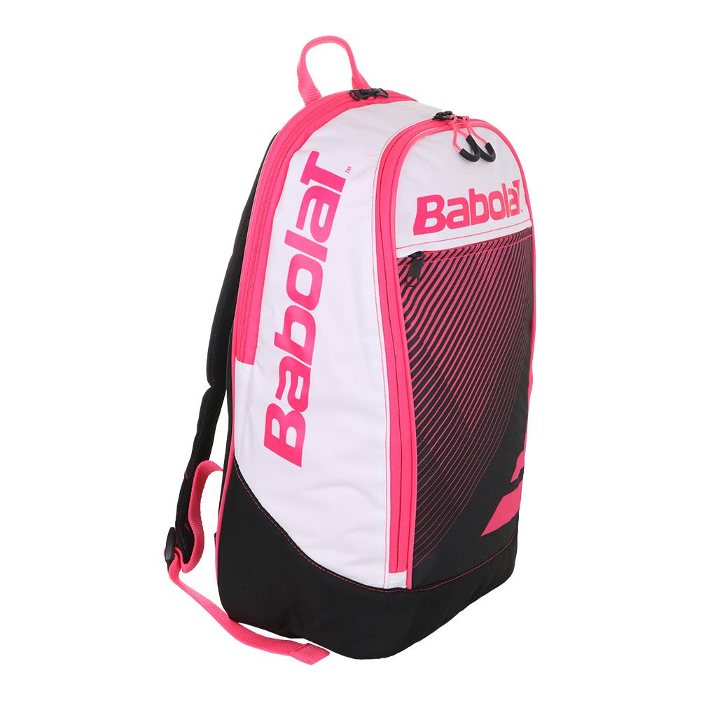 Babolat Club Classic Tennis Backpack (Blue and Pink) f96b1e6ee8d55