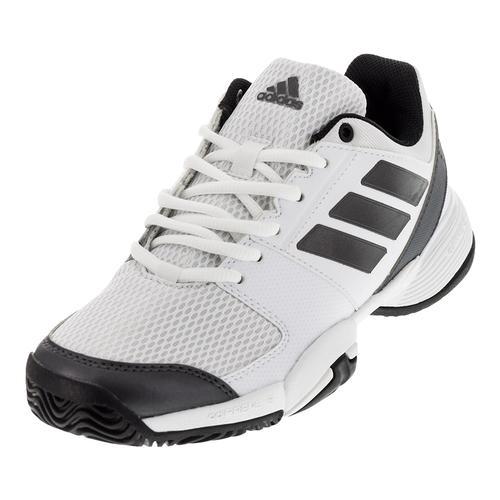 Juniors ` Barricade Club Tennis Shoes White And Night Metallic