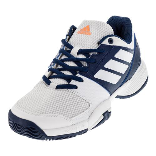 Juniors ` Barricade Club Tennis Shoes Mystery Blue And White
