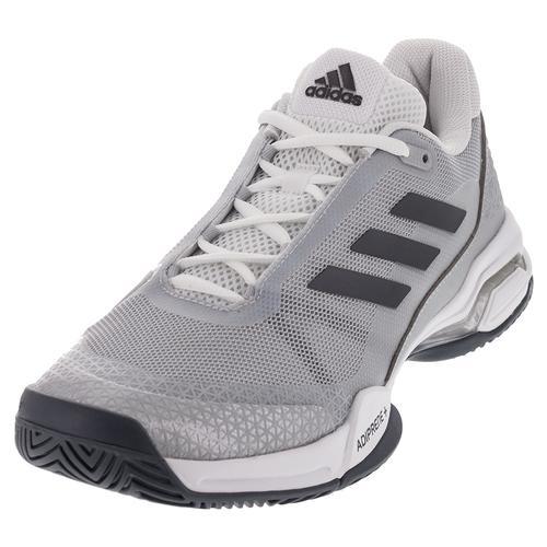 Men's Barricade Club Tennis Shoes Night Metallic And White