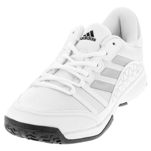 Men's Barricade Court Tennis Shoes White And Clear Onix