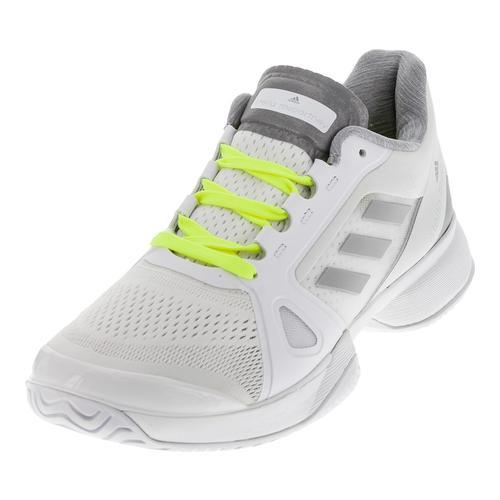 Women's Stella Mccartney Barricade 2017 Tennis Shoes White And Bright Yellow