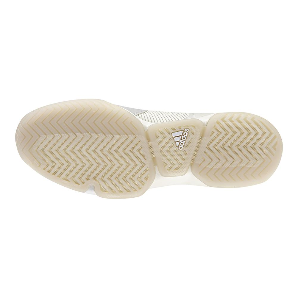 sneakers for cheap b31d6 ea483 ADIDAS ADIDAS Mens Adizero Ubersonic 50 Yrs Ltd Tennis Shoes Off White And  Signal Blue. Zoom. Hover to zoom click to enlarge. 360 View