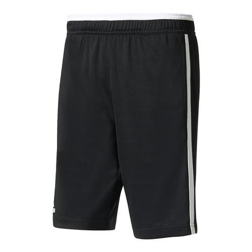 Men's Essex Bermuda Tennis Short Black And White