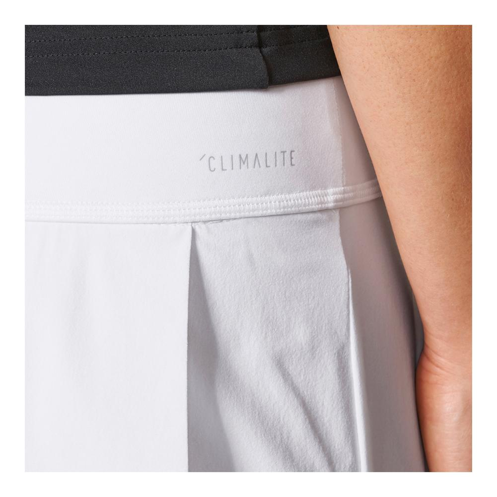 278eaddd74 Adidas Women's Advantage Layered Tennis Skirt in White