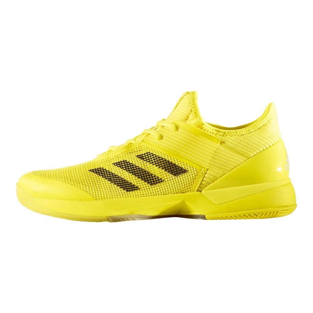lowest price 8fcc7 503dc adidas Womens Adizero Ubersonic 3 Tennis Shoes in Bright Yel