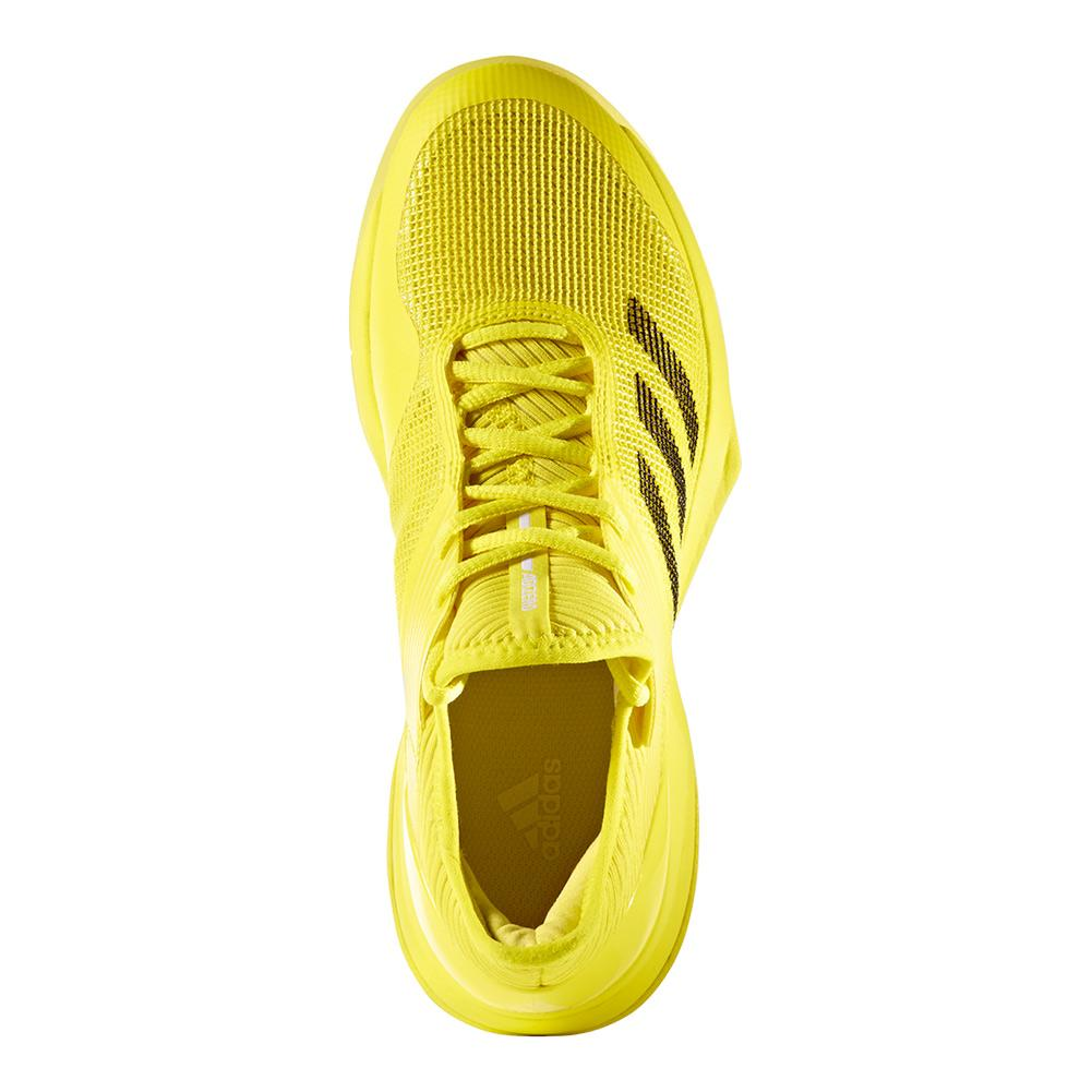 lowest price a2a66 99a22 adidas Womens Adizero Ubersonic 3 Tennis Shoes in Bright Yel