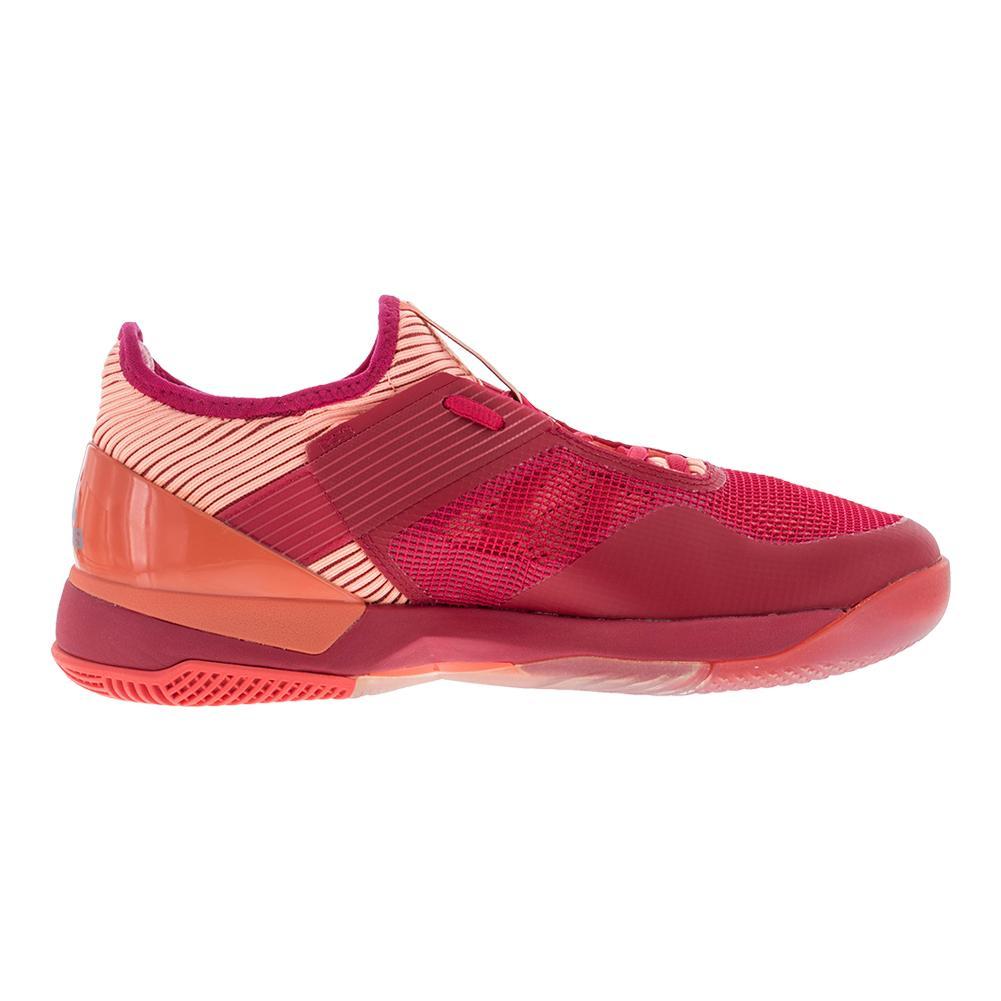Adidas donne adizero ubersonic 3 scarpe da tennis in energia e rosa.