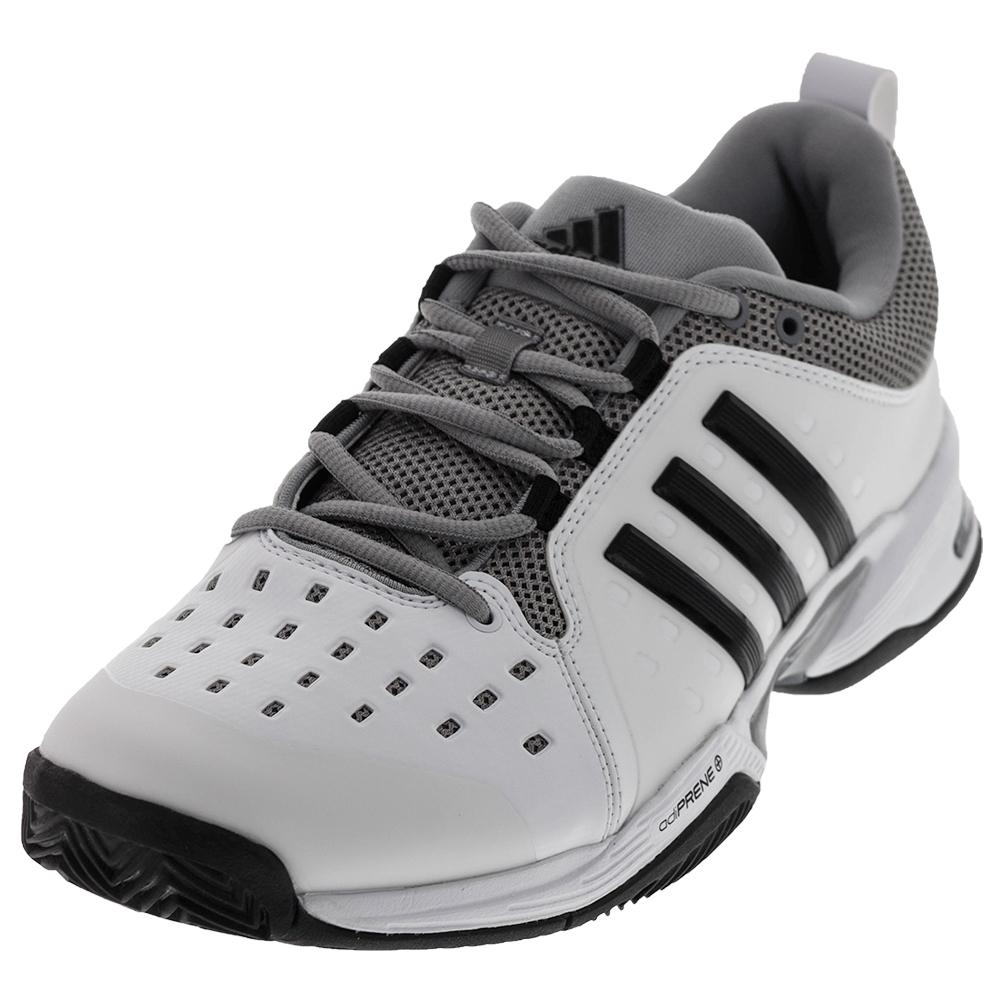 Men's Barricade Classic Wide 4e Tennis Shoe White And Black