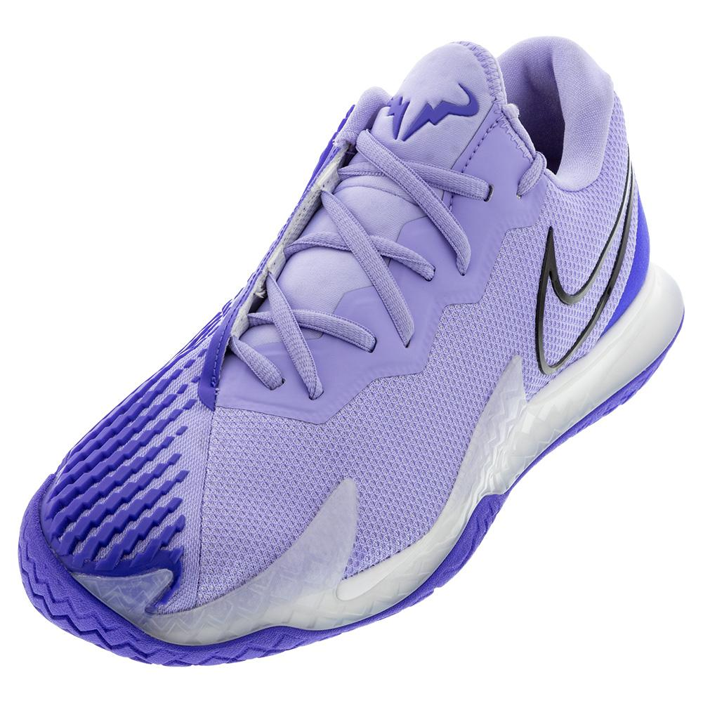 Men's Air Zoom Vapor Cage 4 Tennis Shoes Purple Pulse And Black