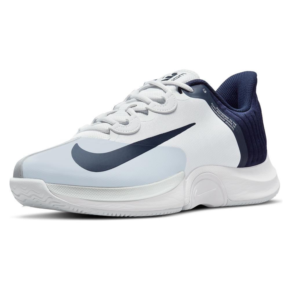 Men's Air Zoom Gp Turbo Tennis Shoes Pure Platinum And Obsidian