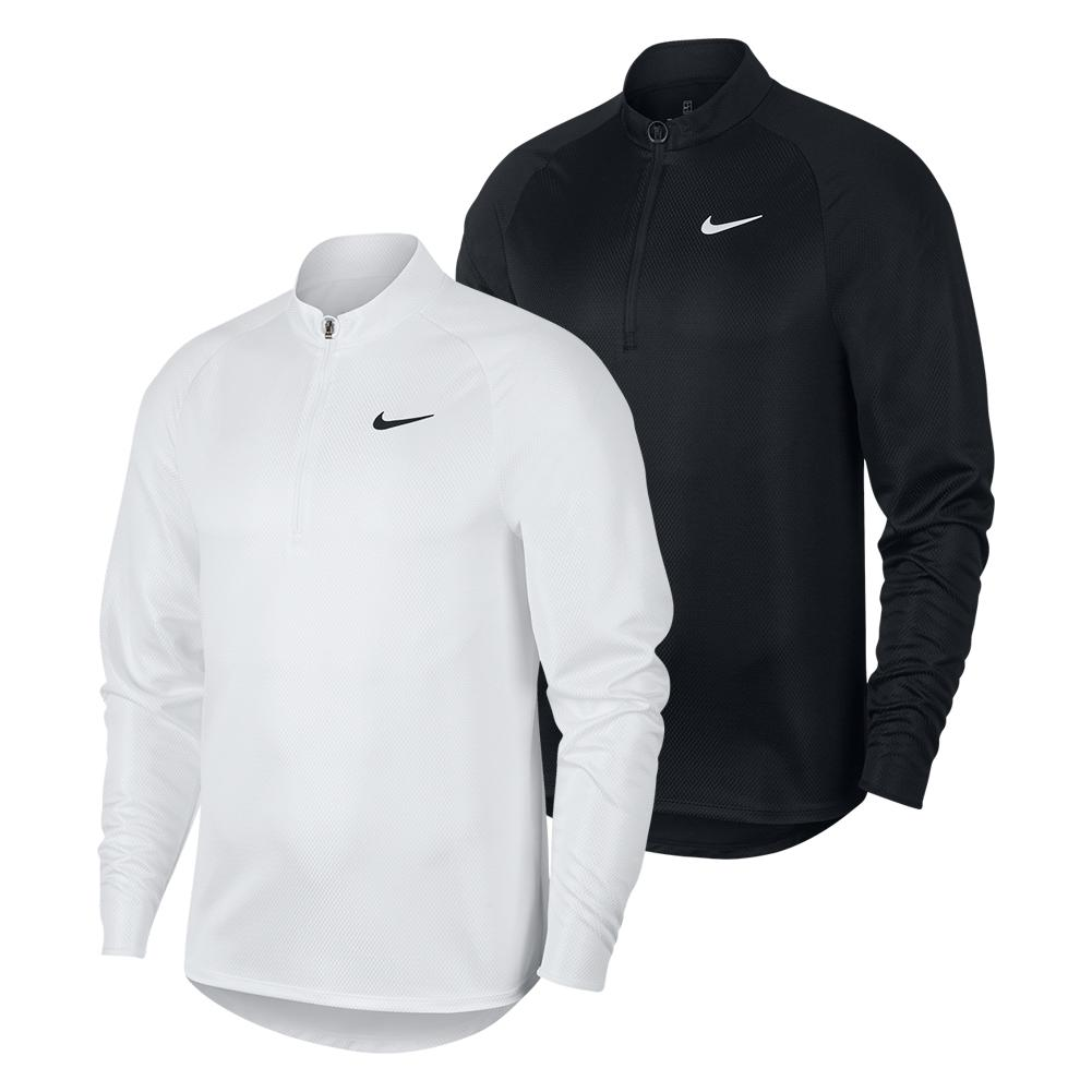 Men's Court Challenger Long Sleeve Half Zip Tennis Top