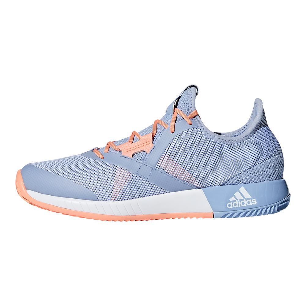 80a47331f Women s Adizero Defiant Bounce Tennis Shoes Chalk Blue And White. Zoom.  Hover to zoom click to enlarge. 360 View