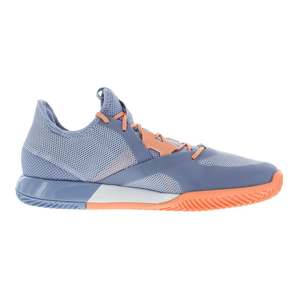 db348537bc6d5 Women s Adizero Defiant Bounce Tennis Shoes Chalk Blue And White. Zoom.  Hover to zoom click to enlarge. 360 View