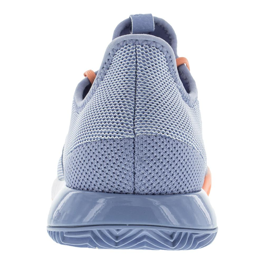ADIDAS ADIDAS Women s Adizero Defiant Bounce Tennis Shoes Chalk Blue And  White. Zoom. Hover to zoom click to enlarge. 360 View f6dfb8c6933